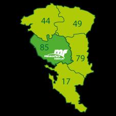 Métaux Fers Valorys Location de bennes sur les département de Vendée, Charente-Maritime, Finistère, Gironde, Ille-et-Vilaine, Loire-Atlantique, Maine-et-Loire, Morbihan, Deux-Sèvres